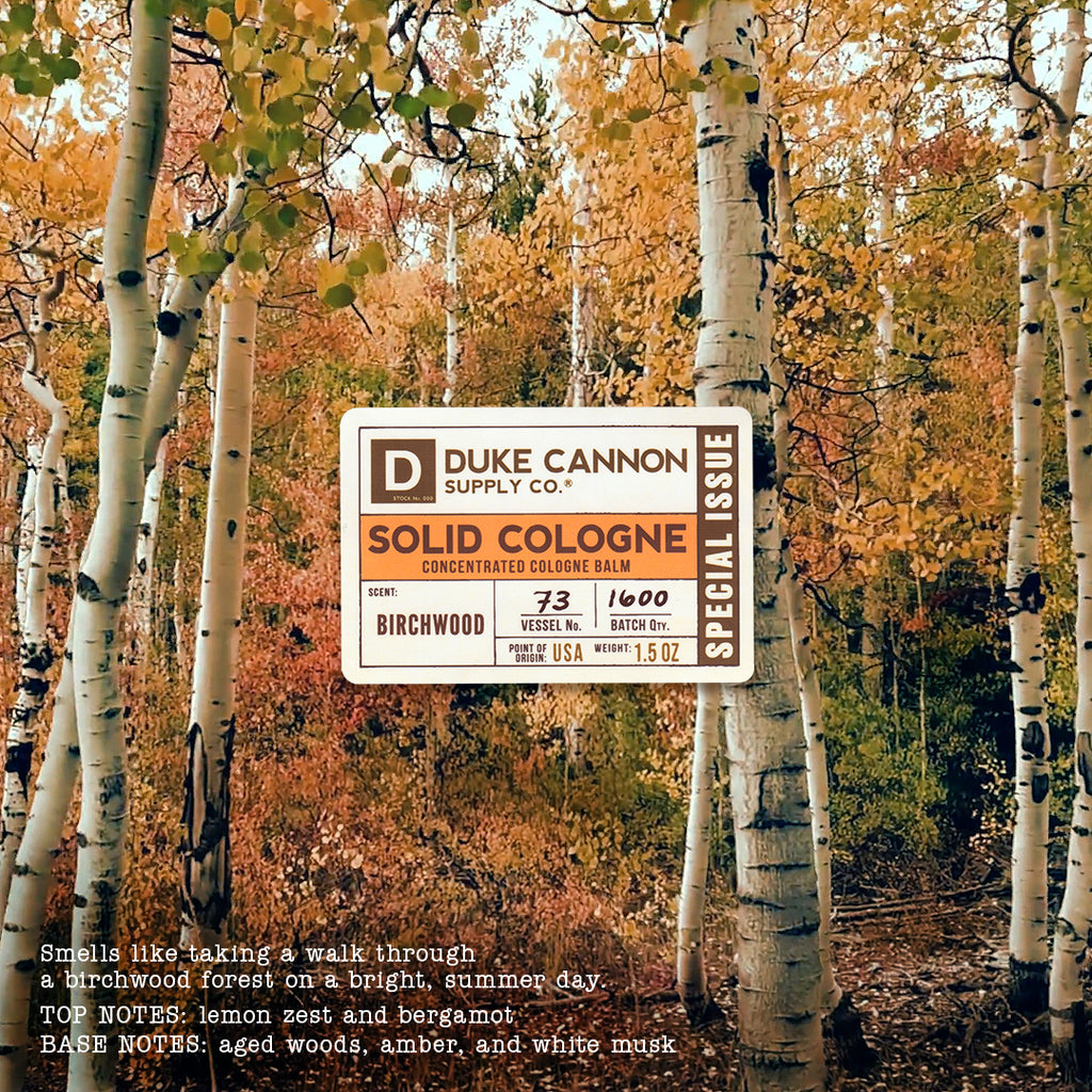 Solid Cologne - Birchwood (Special Issue) - Duke Cannon