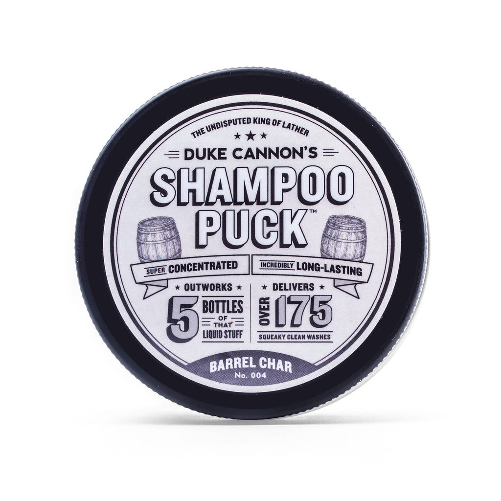 Shampoo Puck - Barrel Char No. 004 - Duke Cannon