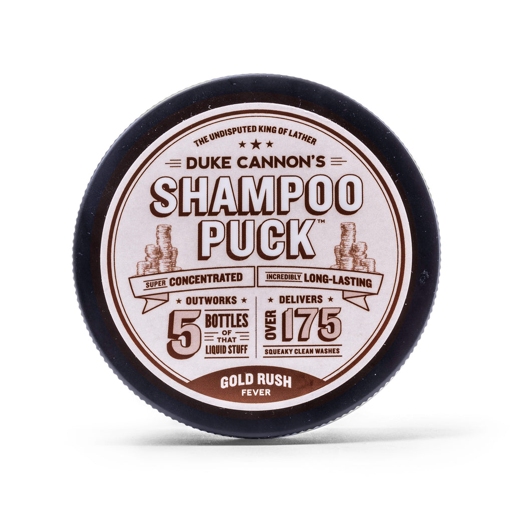 Shampoo Puck - Gold Rush Fever - Duke Cannon