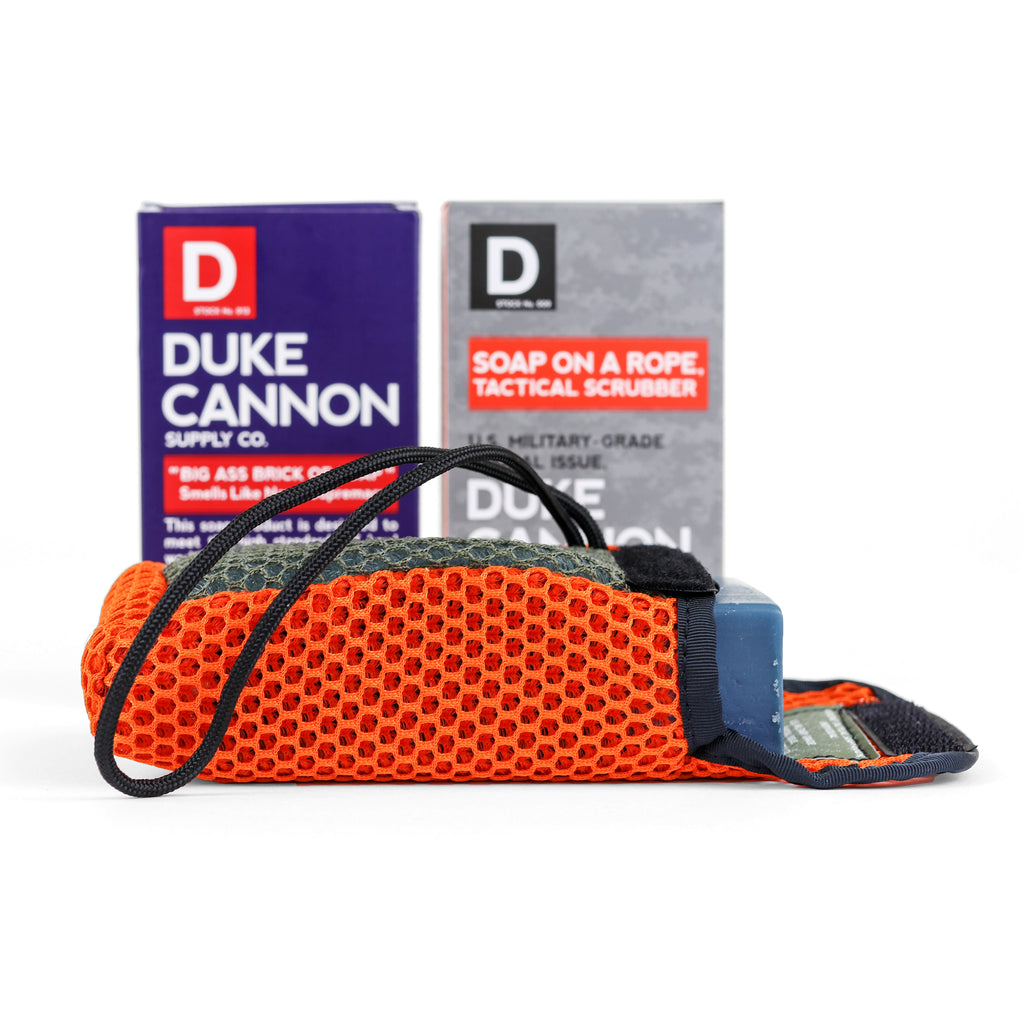 Tactical Scrubber + Soap Bundle - Duke Cannon