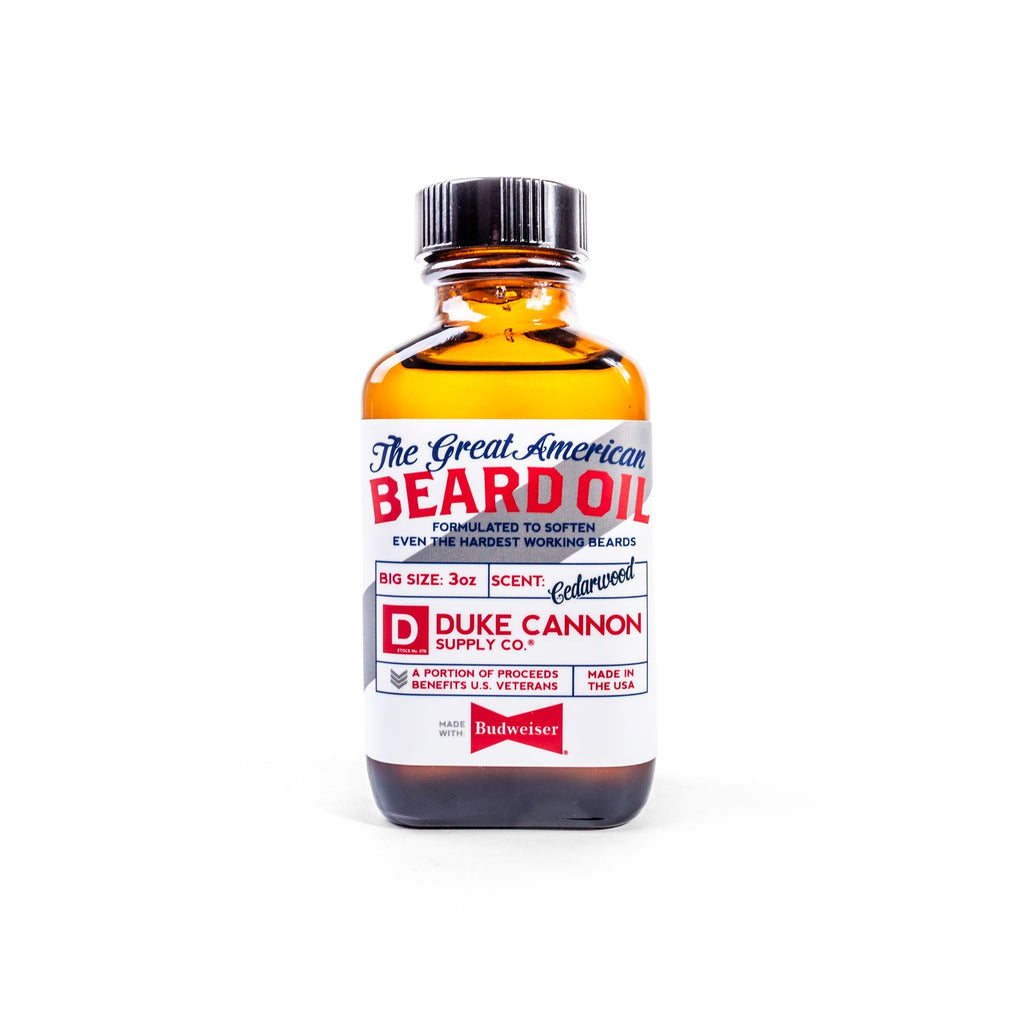 Great American Beard Oil - Made With Budweiser - Duke Cannon