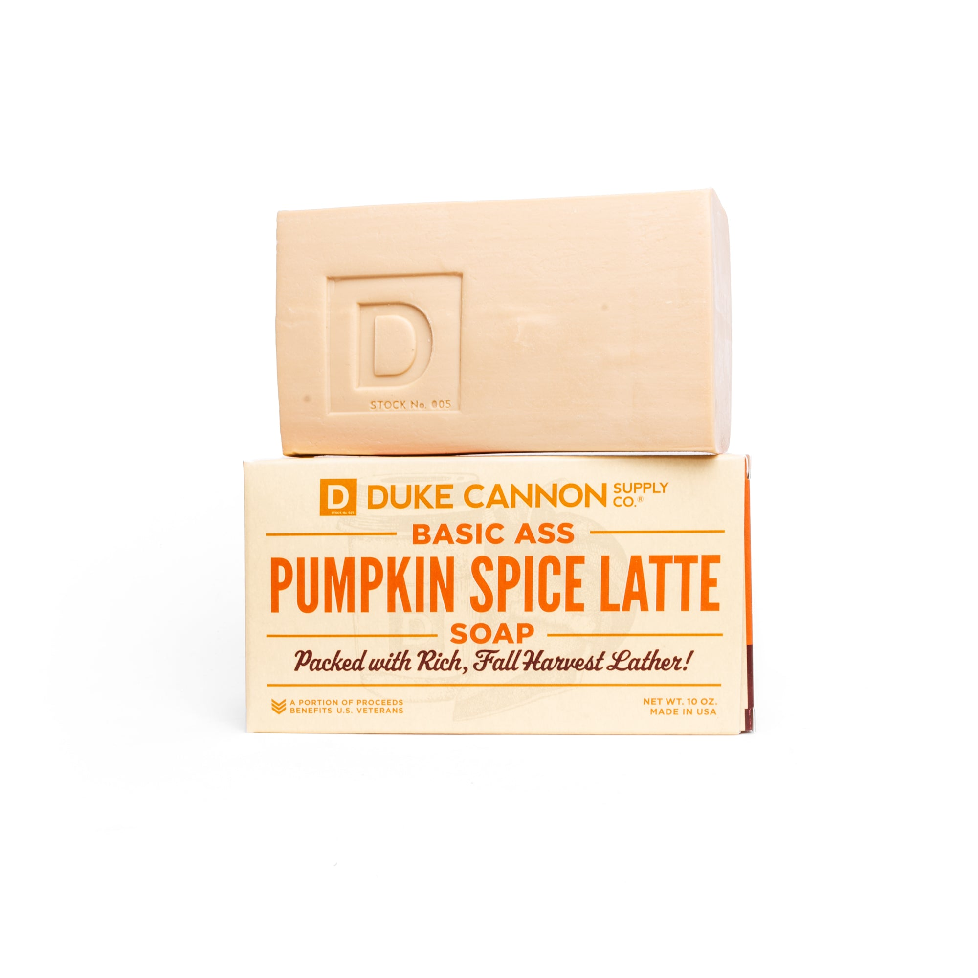 MIRACULOUSLY SOLD OUT: Basic Ass Pumpkin Spice Latte Soap