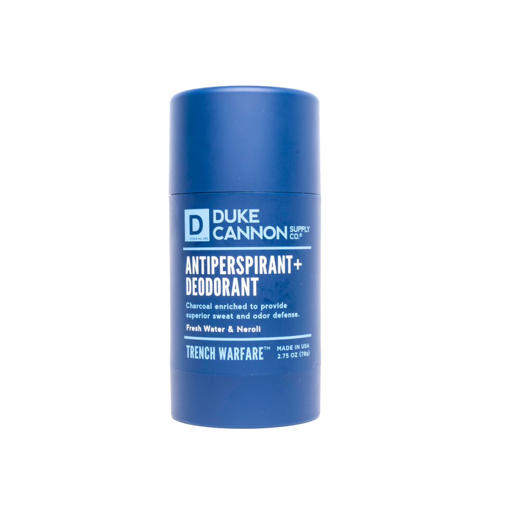 Trench Warfare Antiperspirant + Deodorant (Fresh Water & Neroli)