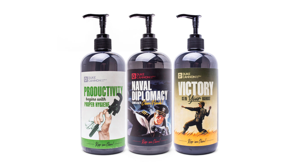 Liquid Hand Soap Triple Play (3 ct. variety pack)