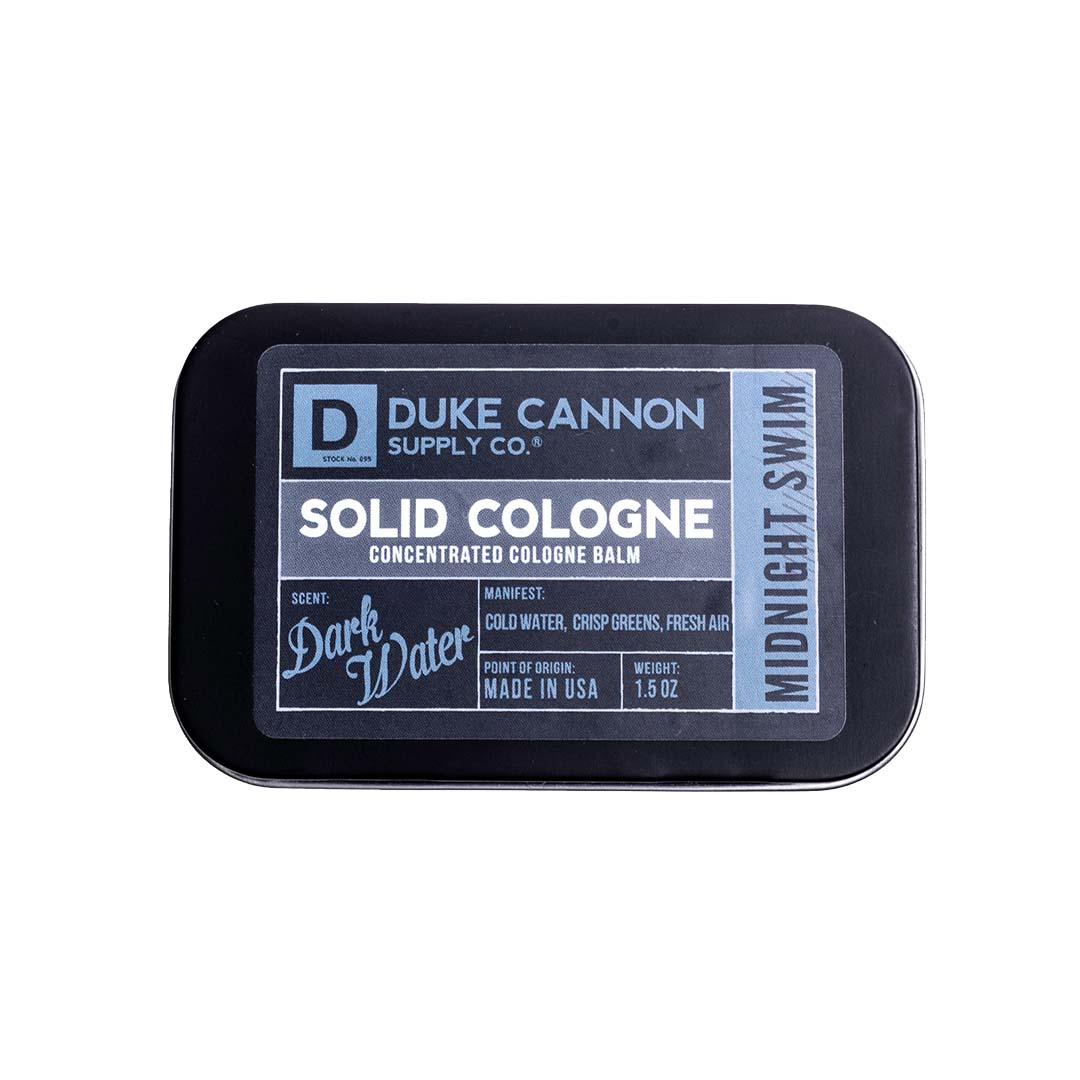 SOLID COLOGNE - MIDNIGHT SWIM - Duke Cannon
