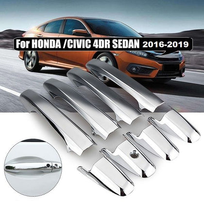 Honda Civic Chrome Handle Cover - Model 2016-2019