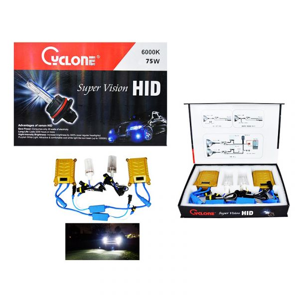 Hid Cyclone Super Vision Hid 75W