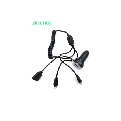 Aolike Car Charger 3 IN 1
