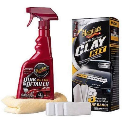 Meguiars Smooth Surface Clay Kit (3X60 GMS BARS)