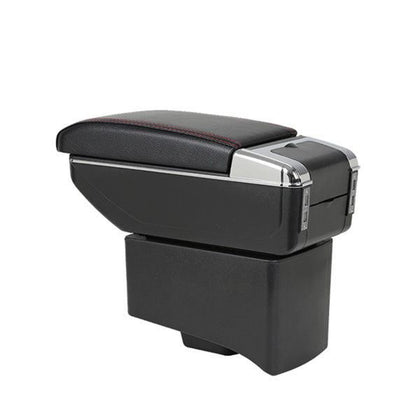 Universal Console Box Armrest With Cup Holder
