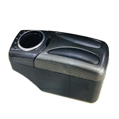 Console Box Arm Rest With Leather And Cup Holder