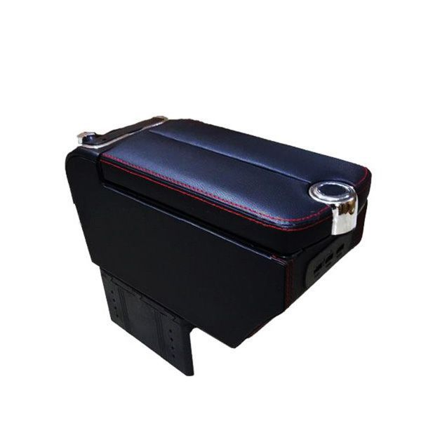 Universal Console Box Middle Open Armrest With USB