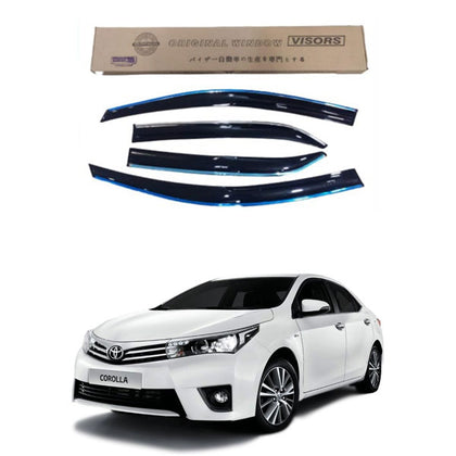 Toyota Corolla ( Mugen Style ) Air Press with Chrome - 2014-2017