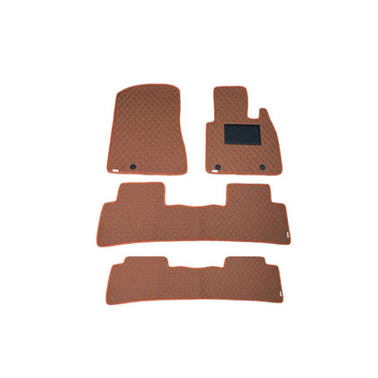 DFSK Glorry 7D Floor Mat ( Flat Style ) 4PCS - Model 2020-2021