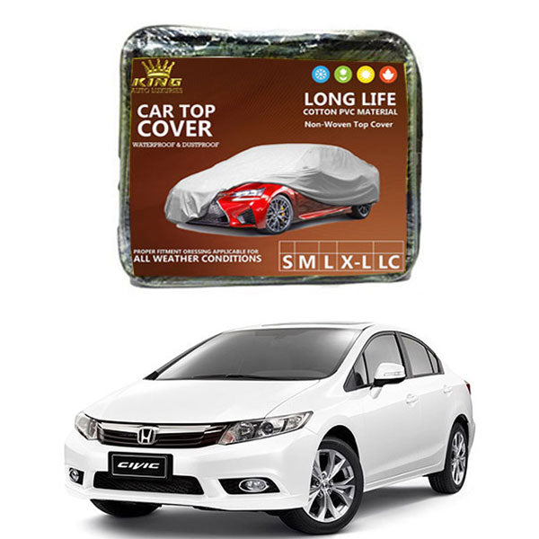 Honda Civic King Car Top Cover - Model 2012-2016
