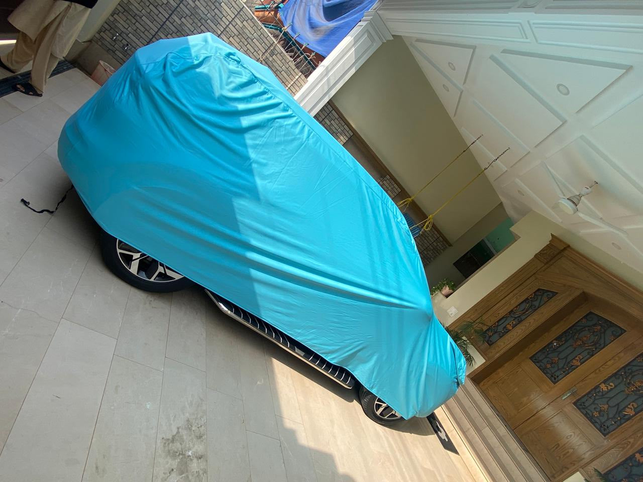 Car Top Cover for Nissan-Sunny in Parachute