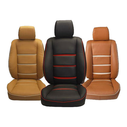 Japanese 3D Custome PU Leather Seat Cover - Model 2019