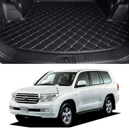 Toyota Land Cruiser 7D Custom Car Trunk Mat - Model 2008-2020