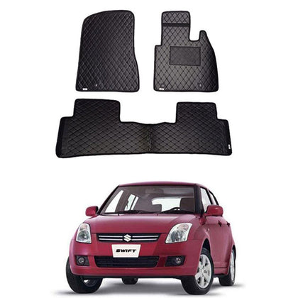 Suzuki Swift 7D Floor Mat ( Flat Style ) - Model 2010-2017