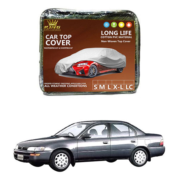 Toyota Corolla King Car Top Cover - Model 1991-1995