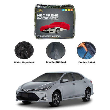 Toyota Corolla Kings Neoprene Top Cover - Model 2017-2020