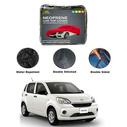 Toyota Passo Kings Neoprene Top Cover - Model 2016-2018