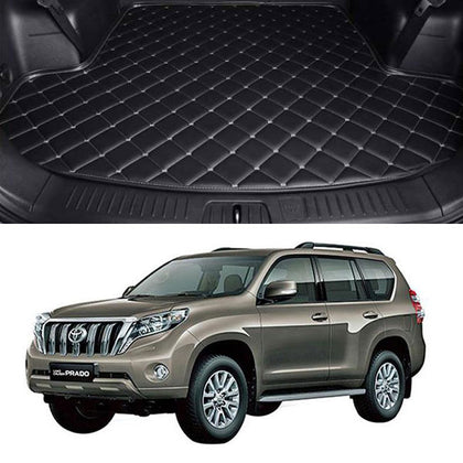 Toyota Prado 7D Custom Car Trunk Mat - Model 2009-2021