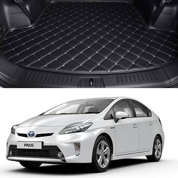Toyota Prius 7D Custom Car Trunk Mat - Model 2009-2015