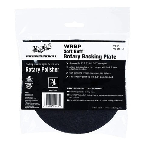 MEGUIAR'S ROTARY BACKING PLATE 155MM
