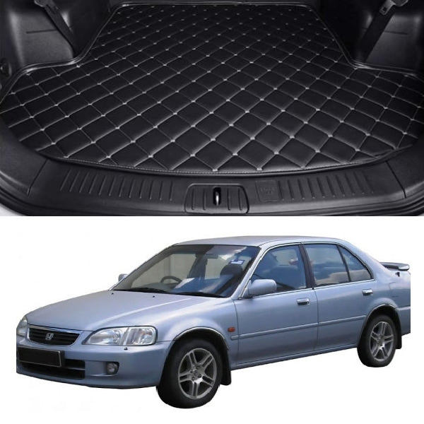 Honda City 7D Custom Trunk Mat - Model 2000-2003