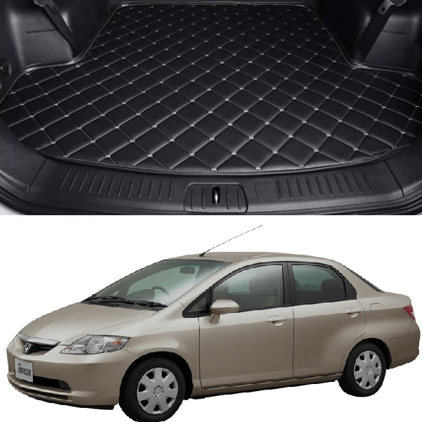 Honda City 7D Custom Car Trunk Mat - Model 2003-2006