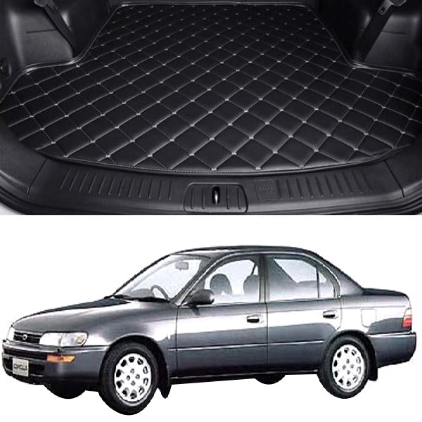 Toyota Corola 7D Custom Car Trunk Mat - Model 1991-1995