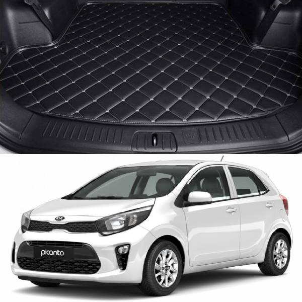 Kia Picanto 7D Custom Car Trunk Mat - Model 2019-2020