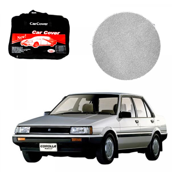 Toyota Corolla Model 1983-1987 Microfiber Car Top Cover