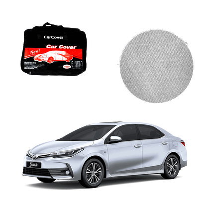 Toyota Corolla Microfiber Car Top Cover - Model - 2019