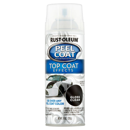 Rust-Oleum Peel Coat Custom Shop Gloss Clear Top Coat 10oz