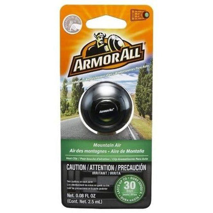 Armor All VENT CLIPS - (1 PACK) 0.08oz/2.5m