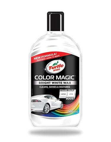 Turtle Color Magic Bright White Wax 500ml
