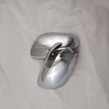 Toyota Corolla Side Mirror Cover Chrome Model - 2012