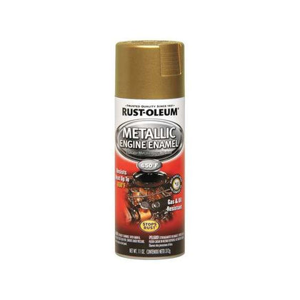 Rustoleum Engine Enamel Spray Paint (Gold Flake)