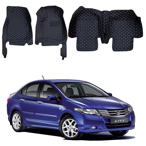 Honda City 7D Floor Mats - Model 2010-2019