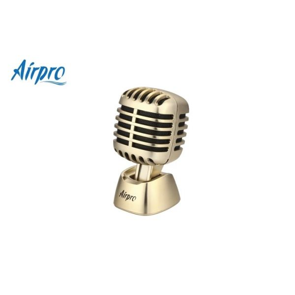 AirPro Mic Man Air Freshener Car Perfume Gold Bless