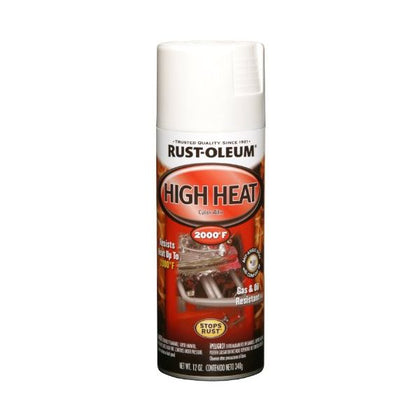 Rustoleum High Heat Spray (White)