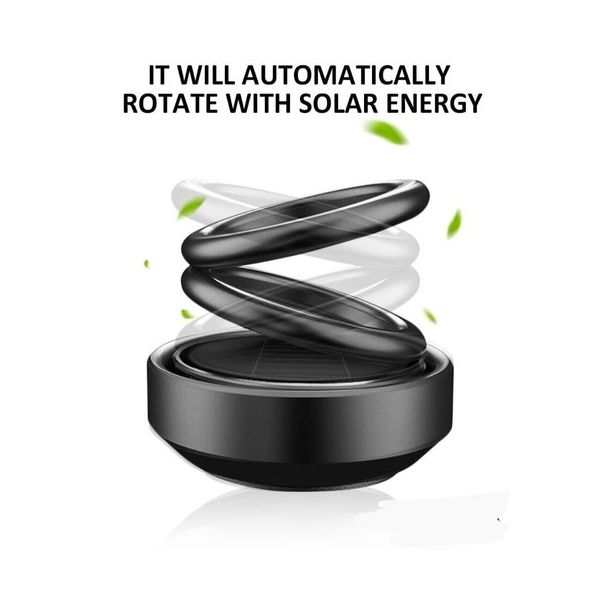 Solar Soft Perfume And Air Purifier for Car 1Pcs