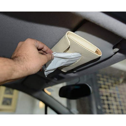 Car Sun Visor Tissue Box Holder - Car Accessories