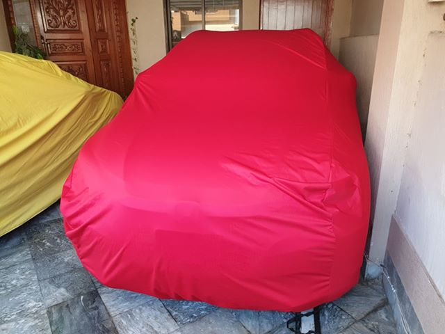 Toyota Rush Microfiber Car Top Cover - Model 2005-2017