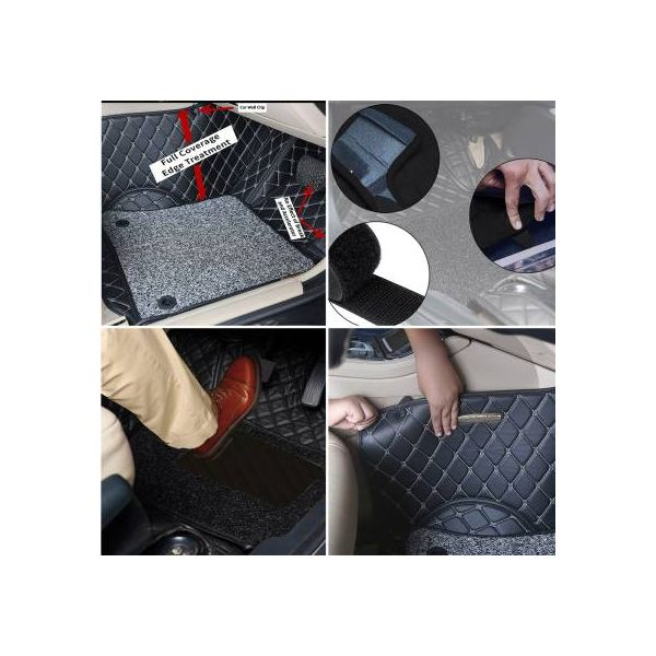 Honda Civic-X High Quality 9D Mat Black Model 2018-2020