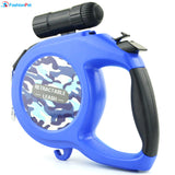 New Arrival 8M 50kg Large Dog Retractable Leash for Big and Medium Dog with LED Light