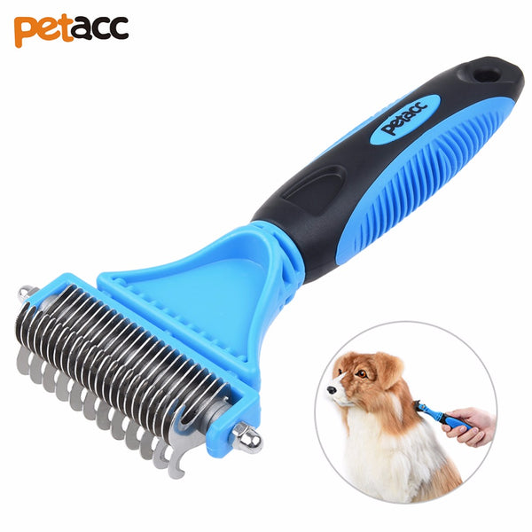 Petacc Useful Pet Dematting Comb Multi-Functional Grooming