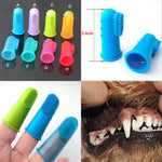 Pet Dog Super Soft Pet Finger Toothbrush